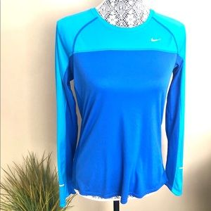 Nike Running Long Sleeve Crew Neck Top